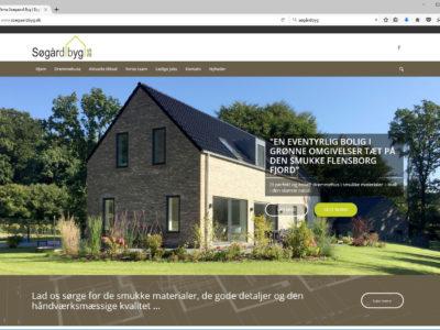 Ny hjemmeside til Søgård Byg