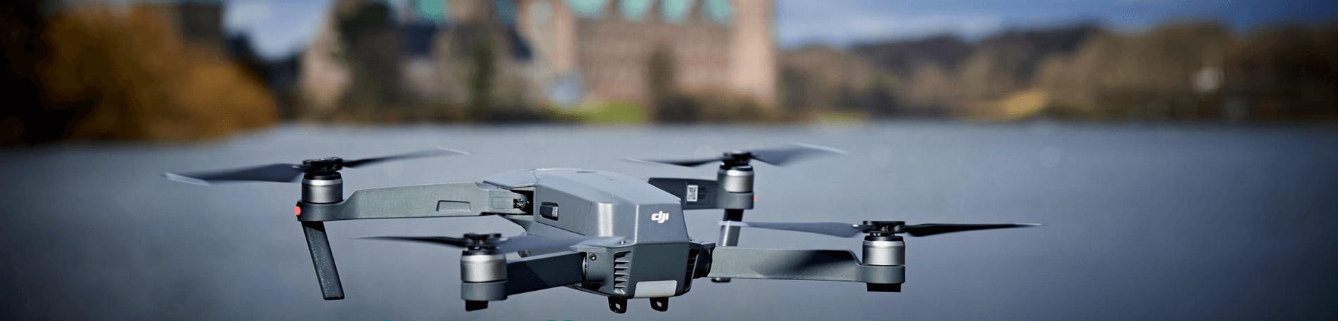 Luftfoto og videooptagelser med drone